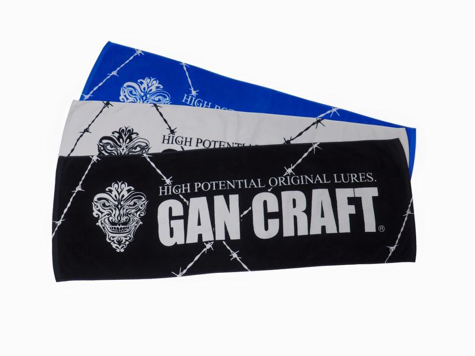 画像1: Gan Craft ロゴスポーツタオル (15%Off)