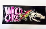 WILD CHASE切り抜きシール(ピンク)