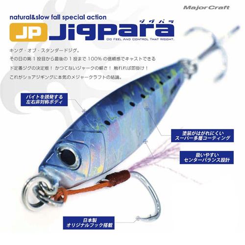 画像2: Majorcraft Jigpara (ジグパラ) 20g