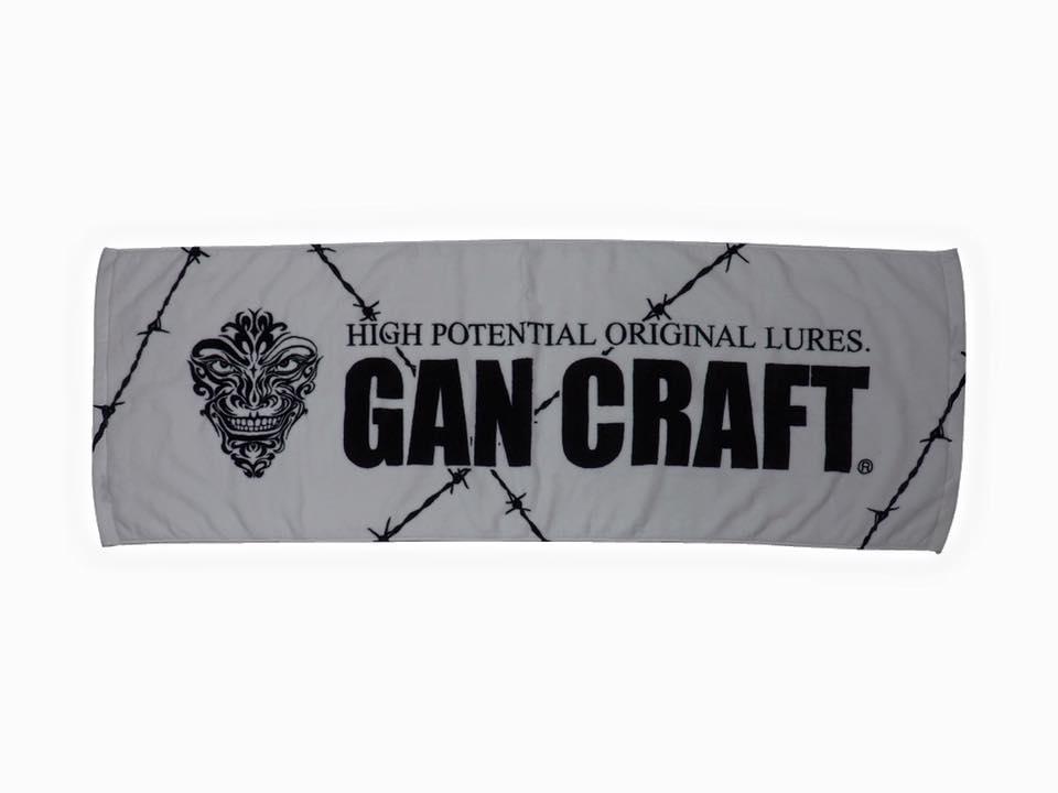 画像4: Gan Craft ロゴスポーツタオル (15%Off)