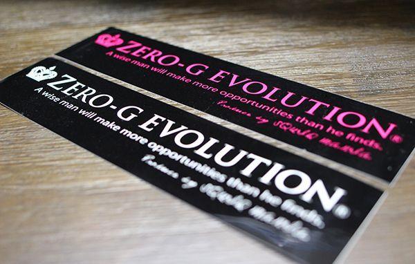 画像1: (シール) ZERO-G EVOLUTION / W300