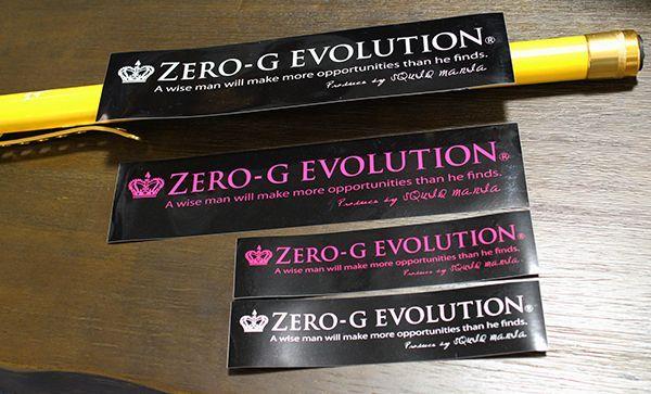 画像2: (シール) ZERO-G EVOLUTION / W300
