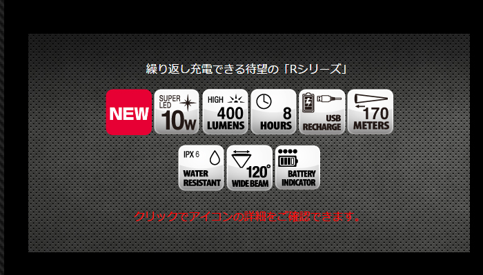 画像3: ZEXUS ZX‐R350  約400ルーメン ( 40%Off )