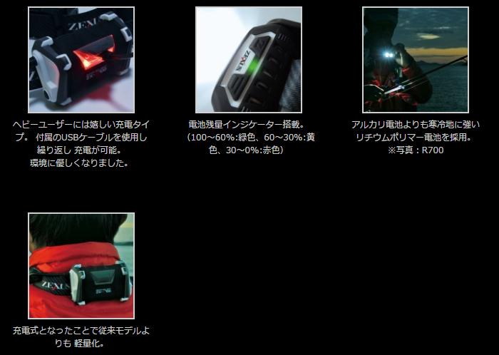 画像2: ZEXUS ZX-R700 約650ルーメン (40%Off)