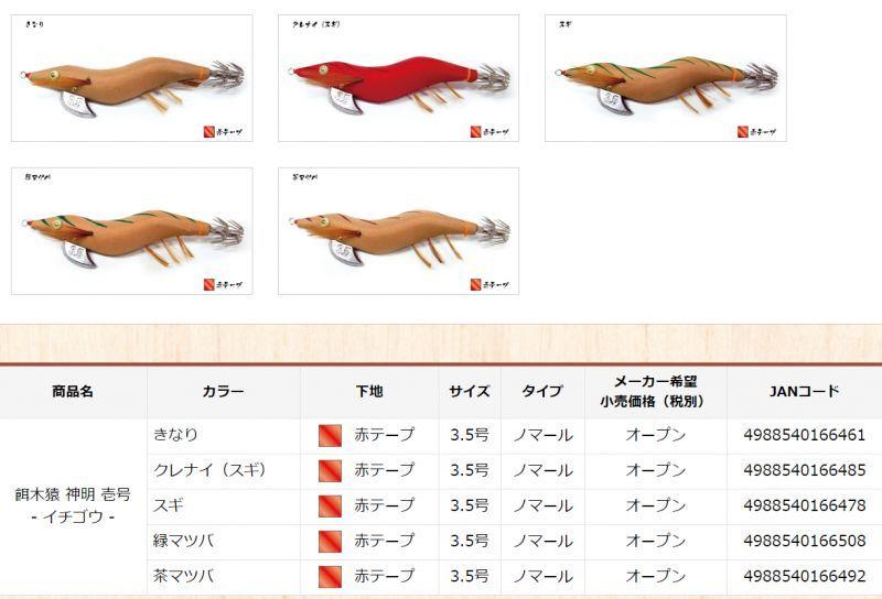画像2: 餌木猿 神明 壱号 3.5号SS / スーパーシャロー