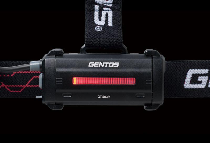 画像5: GENTOS / GT-503R 耐塵・耐水・落下耐久(250ルーメン)