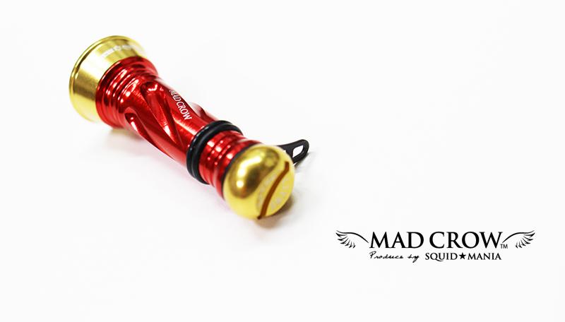 画像1: MAD CROW カスタムバランサーC1 《 RED & GOLD 》