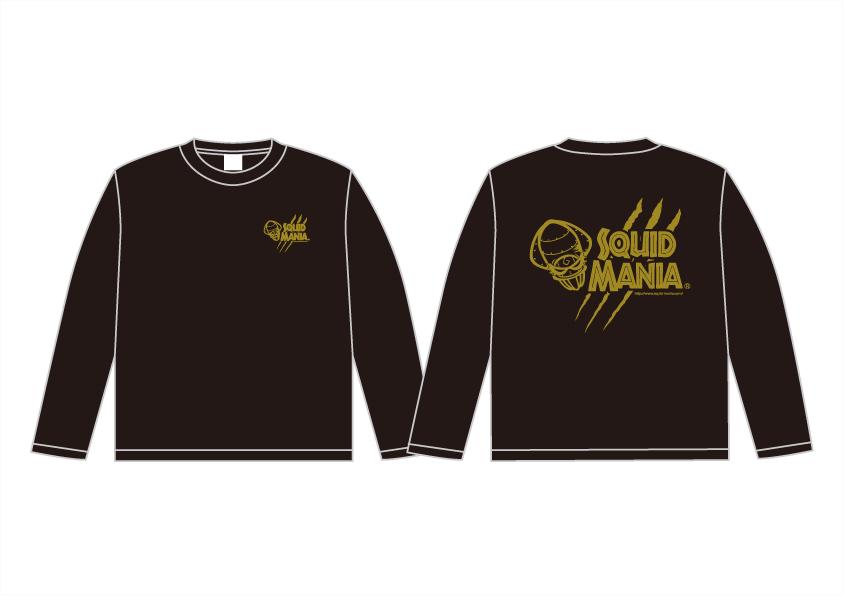 画像2: 悪ロボ ロングTシャツ(BLACK/GOLD)