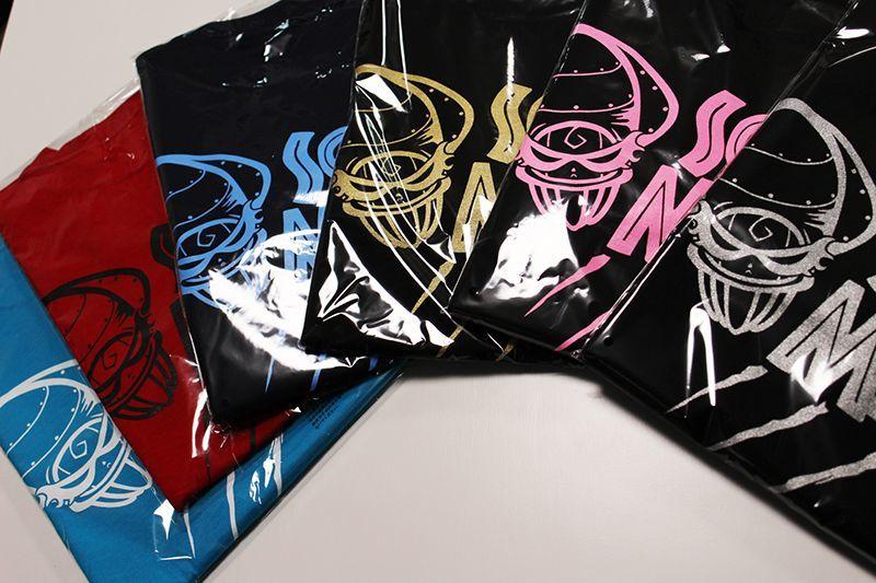 画像2: 悪ロボ ロングTシャツ(ターコイズブルー/ホワイト)