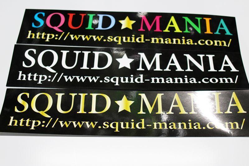 画像1: ステッカー/ SQUID MANIA  (W300)