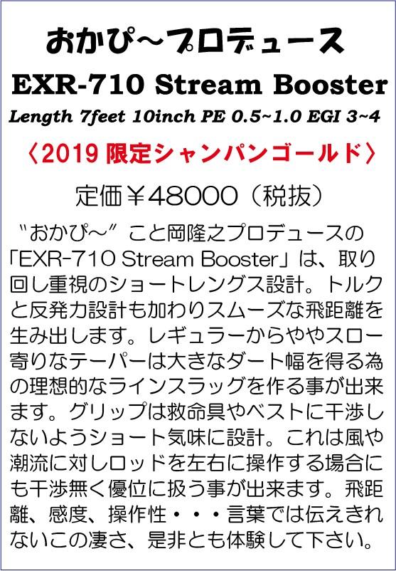 画像2: KANJI EXR-710 Streem Booster (シャンパンゴールド) 10% Off