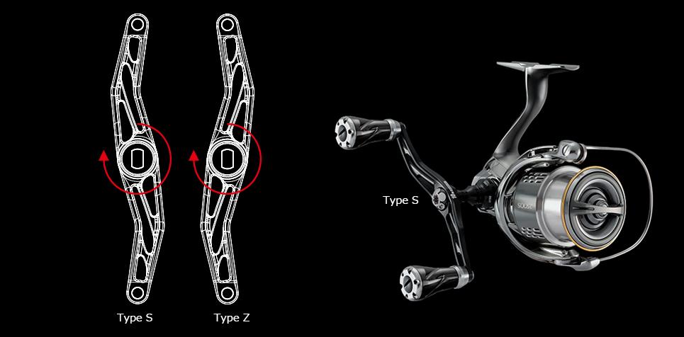 画像4: LIVRE 10thモデル スピニングカスタムハンドル100mm (15%Off)