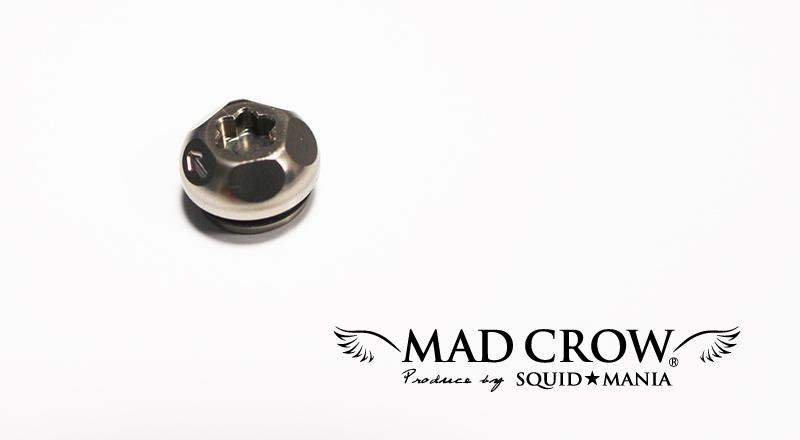 画像1: MAD CROW 100 センターナット ( チタンカラー )