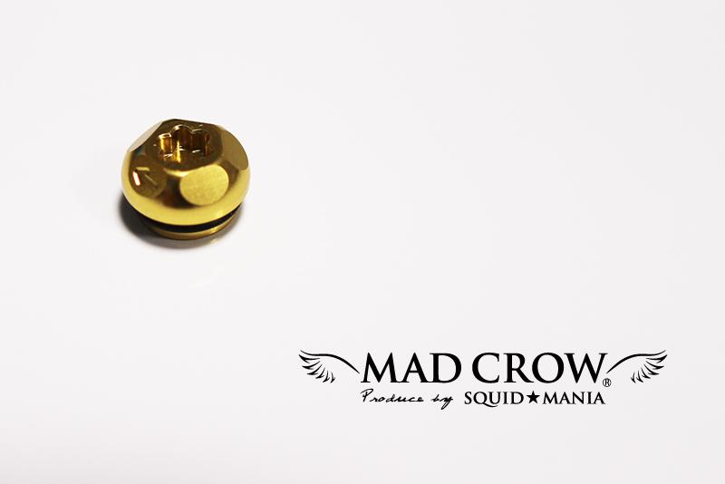 画像1: MAD CROW 100 センターナット ( ゴールド )