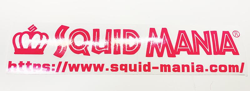 画像1: W30cm/スクマニ ポップ ロゴ PINK /カッティングステッカー