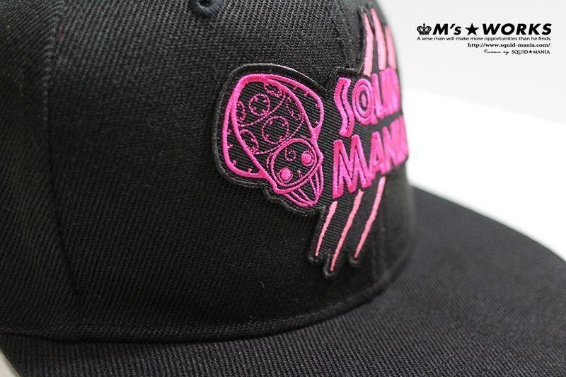 画像3: 烏賊♡ろぼちゃんワッペンピンク&ピンク フラットキャップ
