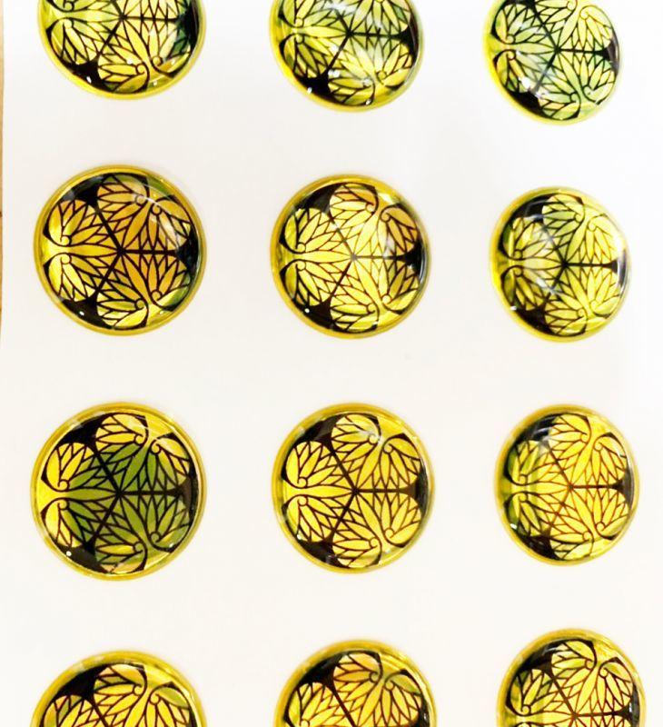 画像1: ポッティングシール / 三つ葉葵GOLD