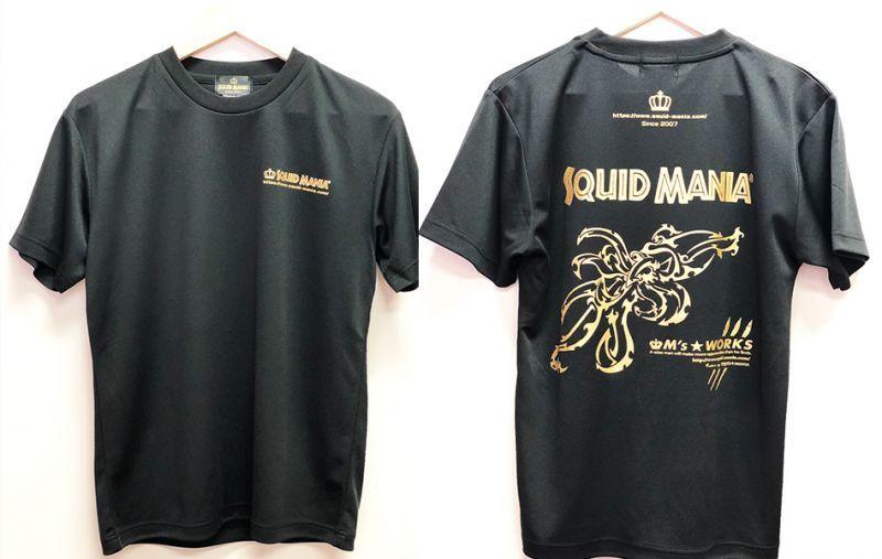 画像1: デカ烏賊トライバル☆ UVカット & DRY Tシャツ