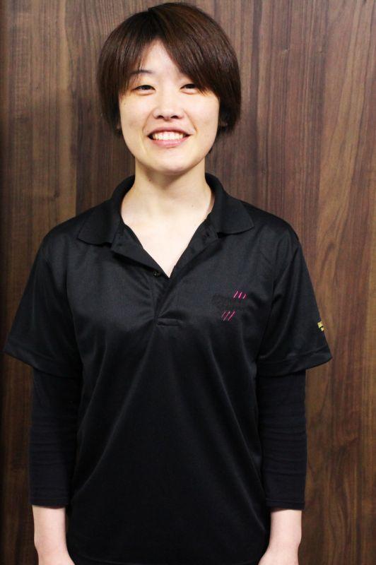 画像1: 烏賊ろぼちゃん刺繍 BLACK&ピンクドライポロシャツ(黒)