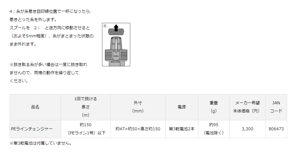 画像4: DAIWA PEラインチェンジャー(30%OFF)