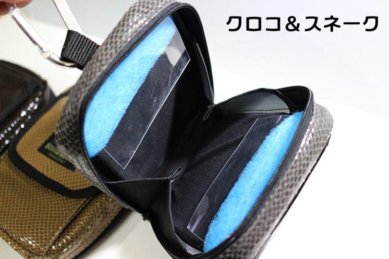 画像3: チョイ悪 エギ RUNGUN BAG W クロコ&スネーク(コンビ)