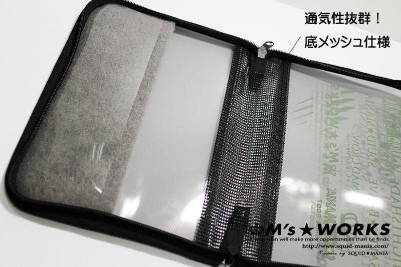 """画像5: IKAJIRO FAMILY  """"絆"""" EGIケースシングル / メッシュ仕様"""