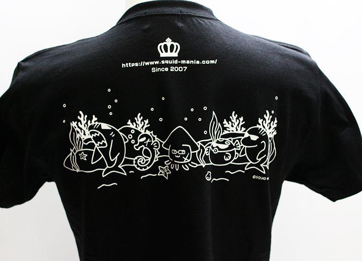 画像2: ハイクオリティーTシャツ IKATARŌ 『DARK HERO'S』黒×白