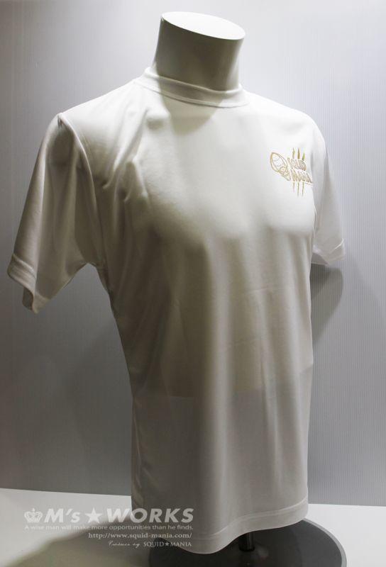 画像2: 悪ロボ!DRYシルキータッチ Tシャツ(白/金)