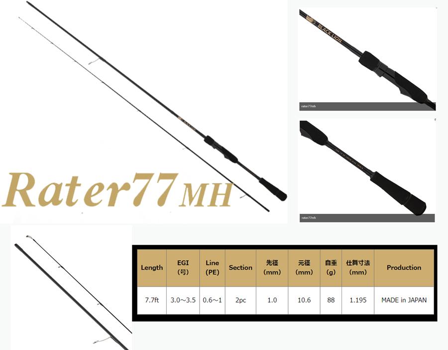 画像3: BLACK LION Rater77MH (10%Off)