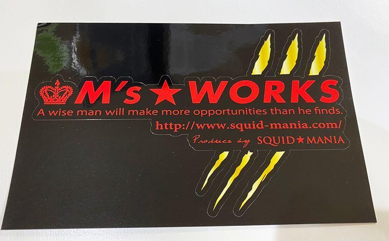 画像3: 切り抜きシール M's WORKS / 爪痕 GOLD ( W200 )